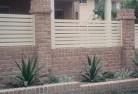 South Johnstone Brick fencing 12